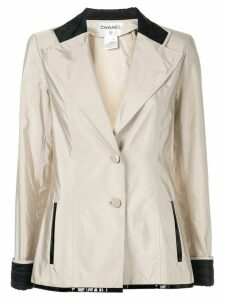 Chanel Pre-Owned long-sleeve jacket - Neutrals