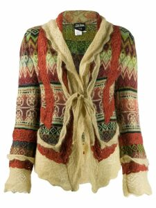 Jean Paul Gaultier Pre-Owned 90's knitted cardigan - Green