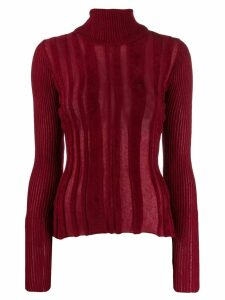 Jean Paul Gaultier Pre-Owned 90's textured turtle neck
