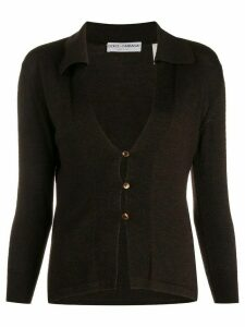 Dolce & Gabbana Pre-Owned 1990's buttoned cardigan - Brown