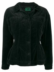Jean Paul Gaultier Pre-Owned 1990's dropped shoulders fitted jacket -
