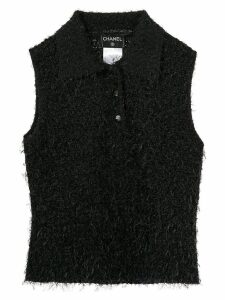 Chanel Pre-Owned Sleeveless Tops - Black