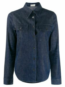 Helmut Lang Pre-Owned denim slim shirt - Blue