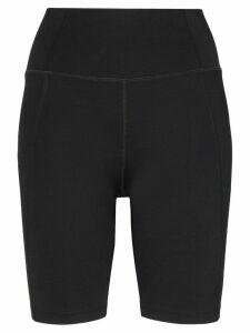 Girlfriend Collective high-rise bike shorts - Black