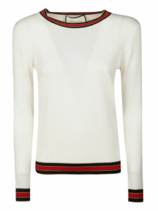 Gucci Striped Trim Sweater