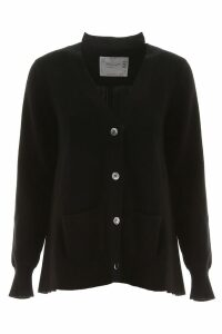 Sacai Cardigan With Pleated Back