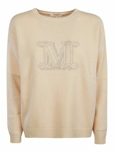 Max Mara Cannes Logo Sweater