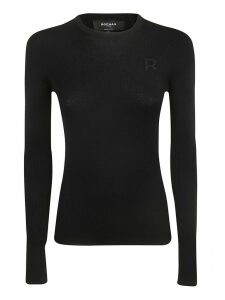 Rochas Logo Embroidered Sweater