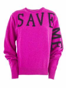 Alberta Ferretti Fuchsia Cashmere Sweater