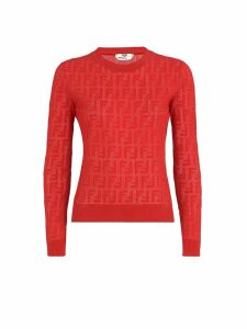 Fendi Fendi Ff Embossed Jumper