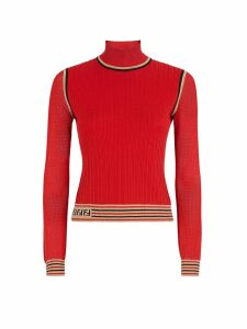 Fendi Fendi High Collar Jumper