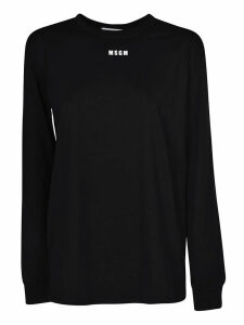 MSGM Logo Long Sleeve T-shirt