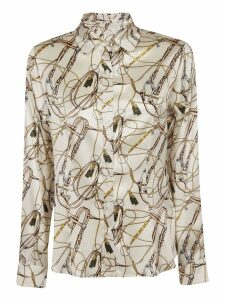 Robert Friedman Hermes Stamp Shirt