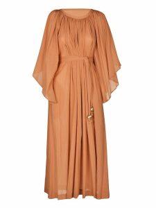 Lisa Marie Fernandez Angel Sleeve Maxi Dress