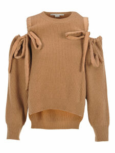 Stella Mccartney Off-the-shoulders Sweater