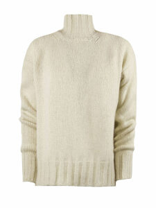 Dondup Beige Alpaca Sweater