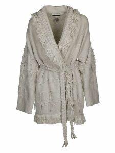 Alanui Fringe Knitted Cardigan
