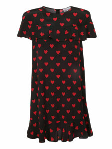 RED Valentino Heart Print Dress