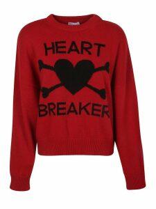 RED Valentino Heart Breaker Sweater
