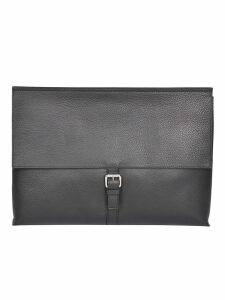 Orciani Buckle-detailed Clutch