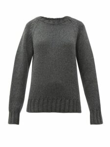 A.p.c. - X Suzanne Koller Ethan Oversized Wool Sweater - Womens - Grey