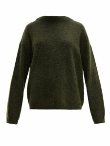 Acne Studios - Dramatic Oversized Knit Sweater - Womens - Khaki