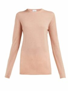 Raey - Long-line Fine-knit Cashmere Sweater - Womens - Pink