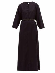 A.P.C. - X Suzanne Koller Katja Wool Maxi Dress - Womens - Navy