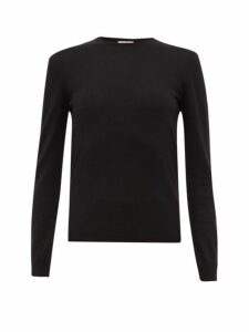 Giuliva Heritage Collection - The Esthia Virgin Wool Sweater - Womens - Black