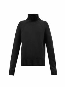 Holiday Boileau - Mick Roll Neck Virgin Wool Sweater - Womens - Navy