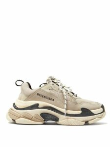 Balenciaga - Triple S Low-top Trainers - Womens - Beige