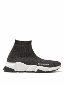 Balenciaga - Speed Trainers - Womens - Black Silver