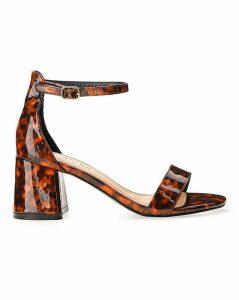 Cammy Block Heel Sandals Extra Wide Fit