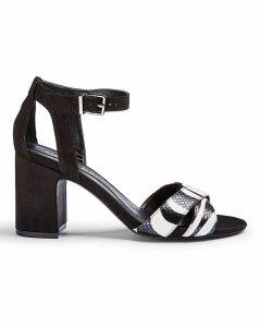 Helen Mid Block Heels Extra Wide Fit