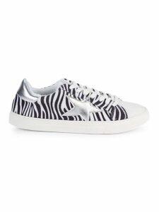 Ramsey Zebra Striped Sneakers