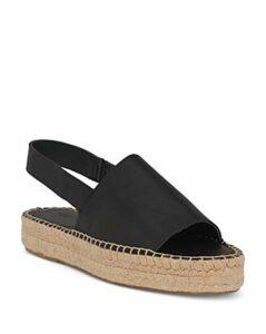 Whistles Women's Nile Platform Espadrille Slingback Sandals
