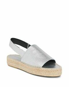 Whistles Women's Nile Slingback Espadrille Platform Sandals
