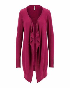 Magenta Waterfall Cardigan