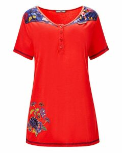 Joe Browns Sporty Floral Top