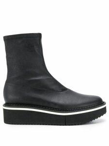 Clergerie Berta flatform boots - Black