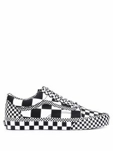 Vans all over check sneakers - Black