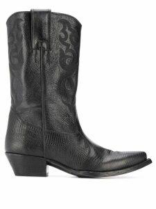 Saint Laurent Lukas 40mm boots - Black