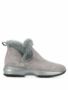 Hogan Interactive ankle boots - Grey