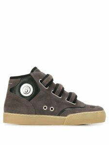 Mm6 Maison Margiela hi-top sneakers - Grey