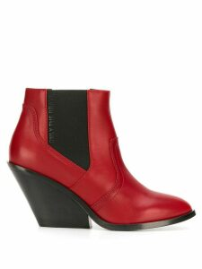 Diesel ankle boots - Red