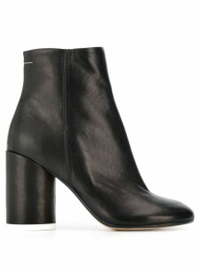 Mm6 Maison Margiela block-heel ankle boots - Black