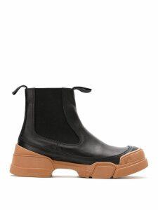 Uma Raquel Davidowicz Tamara leather boots - Black