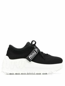 Miu Miu Miu Run sneakers - Black