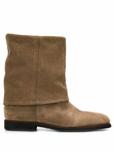 Holland & Holland Turnover ankle boots - Brown