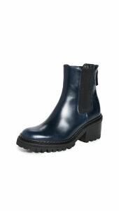 WANT Les Essentiels Valdez Block Heel Chelsea Boots